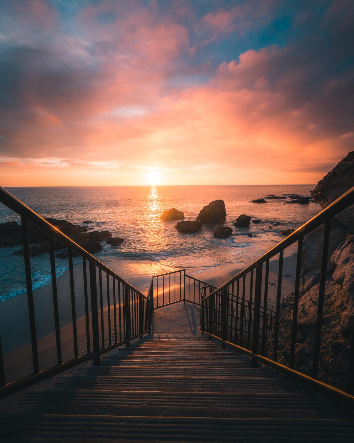 Sunset stairs